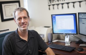Dr. Jeffrey Harman led a study that found patients with multiple chronic medical conditions are half as likely to receive depression treatment in primary care practices that use electronic medical records.