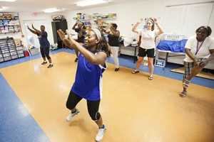 SWAG Oasis offers free Zumba classes for community members.